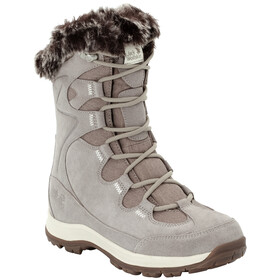 Jack Wolfskin Glacier Bay Texapore High Laarzen Dames, light grey/champagne